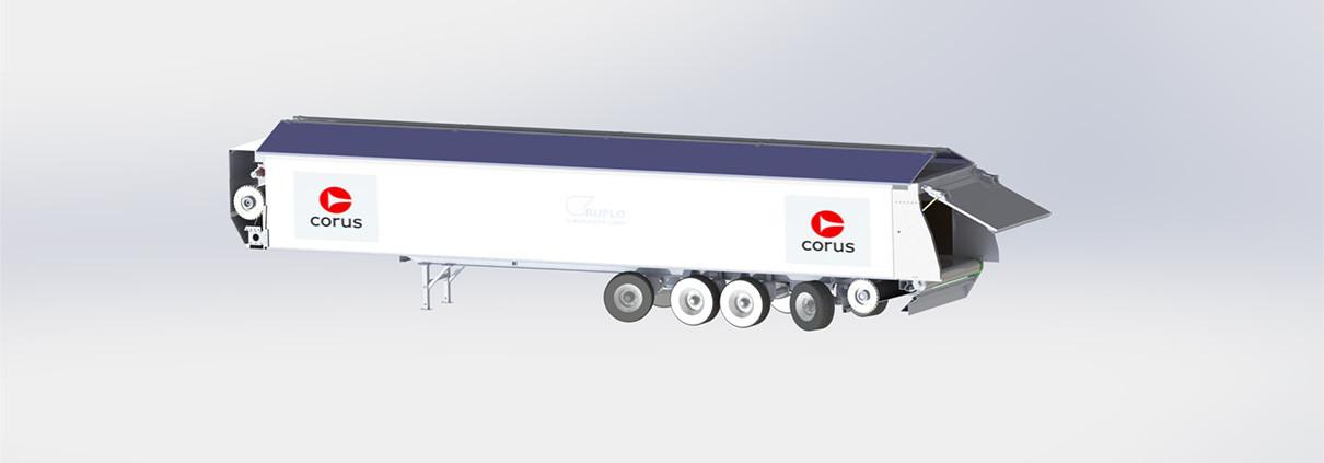 Corus vrachtwagen